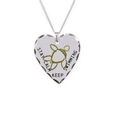 Turtle, Stay Calm Necklace