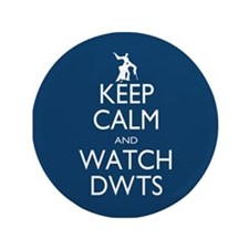 "Keep Calm Watch DWTS 3.5"" Button (100 pack)"