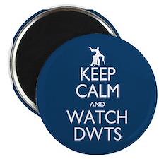 """Keep Calm Watch DWTS 2.25"""" Magnet (10 pack)"""