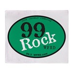 99Rock GO BIG GREEN Throw Blanket