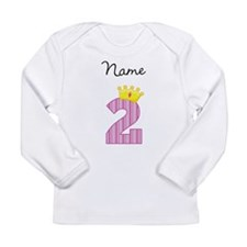 Personalized Princess 2 Long Sleeve T-Shirt