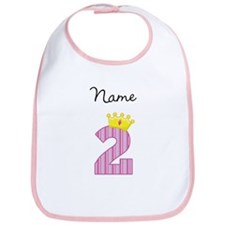 Personalized Princess 2 Bib