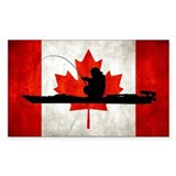 Canadian Kayak Angler - Decal