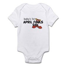 Baby's First April Fools Day Baby Bodysuit