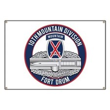 10th Mountain CAB Banner
