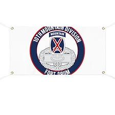 10th Mountain CFMB Banner