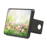 Spring Meadow Rectangular Hitch Cover