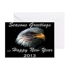 American Eagle 25 Greeting Cards (Pk Of 10)
