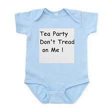 Tea Party Don't Tread on Me Body Suit