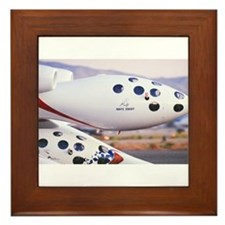 White Knight and SpaceShipOne Framed Tile