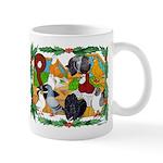 Christmas Pigeons Mug