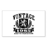 Vintage 1985 Decal
