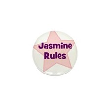 Jasmine Rules Mini Button (10 pack)