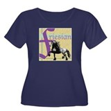 friesiansquare Plus Size T-Shirt