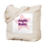 Jayda Rules Tote Bag
