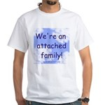 Attachment Parenting White T-Shirt