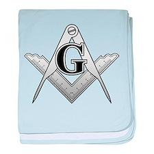 Freemason2 baby blanket