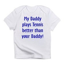 Funny Baby tennis Infant T-Shirt