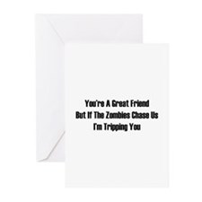 I'm tripping you. Greeting Cards (Pk of 20)