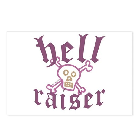 Hell Raiser Funny Postcards (Package of 8)