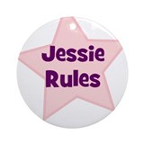 Jessie Rules Ornament (Round)