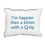 Happy Kittens Rectangular Canvas Pillow