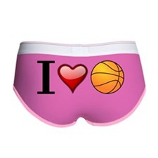 I heart basketball Women's Boy Brief