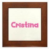 """Cristina"" Framed Tile"