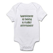 Happiness is being a FLIGHT A Infant Bodysuit