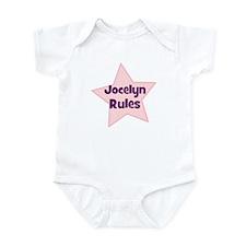 Jocelyn Rules Infant Bodysuit