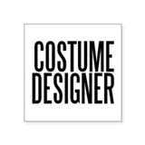 Costume Designer Rectangle Sticker
