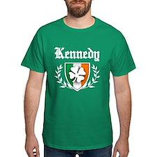 Kennedy Shamrock Crest T-Shirt