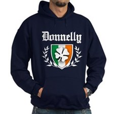 Donnelly Shamrock Crest Hoody