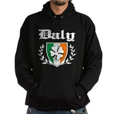 Daly Shamrock Crest Hoodie