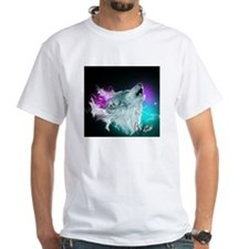 Northern Lights Wolf Spirit T-Shirt