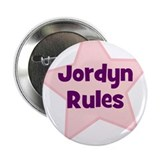 "Jordyn Rules 2.25"" Button (10 pack)"