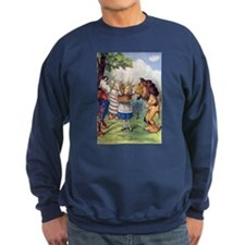 Alice, The Lion, The Unicorn and Cake! Sweatshirt