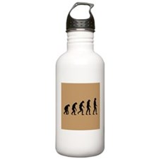 The Ascent of Man Water Bottle