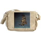 Immature Bald Eagle Messenger Bag