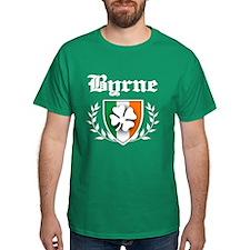 Byrne Shamrock Crest T-Shirt