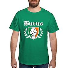 Burns Shamrock Crest T-Shirt