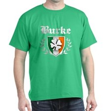 Burke Shamrock Crest T-Shirt