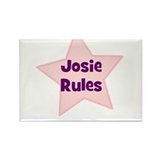 Josie Rules Rectangle Magnet