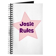 Josie Rules Journal