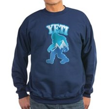 Yeti Mountain Scene Sweatshirt