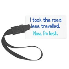 Road Less Travelled Luggage Tag