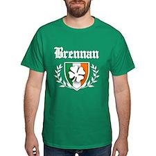 Brennan Shamrock Crest T-Shirt