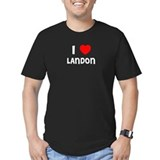 I LOVE LANDON Black T-Shirt