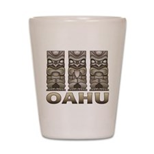 Oahu Tiki Shot Glass