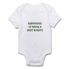 Happiness is being a GOAT HER Infant Bodysuit
